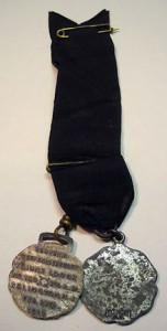 Vintage 1910 Masonic Medal, Westwood NJ.