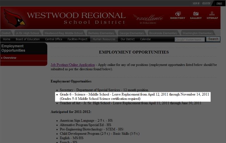 Westwood Jobs.